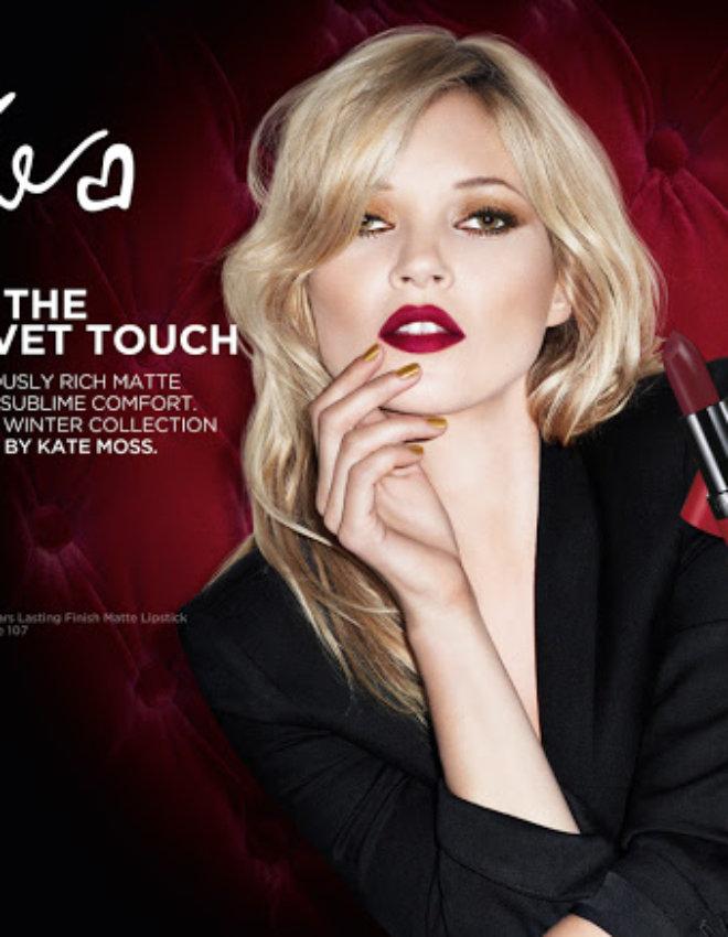 Le rouge à lèvre Kate Moss-Rimmel
