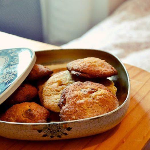 Recette #4   – Cookies chocolat blanc&cranberries –