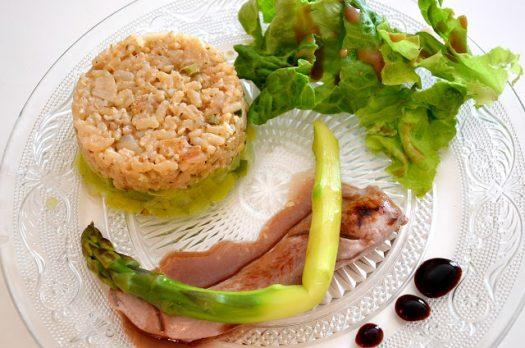 Recette #7 Aiguillette de canard et Risotto