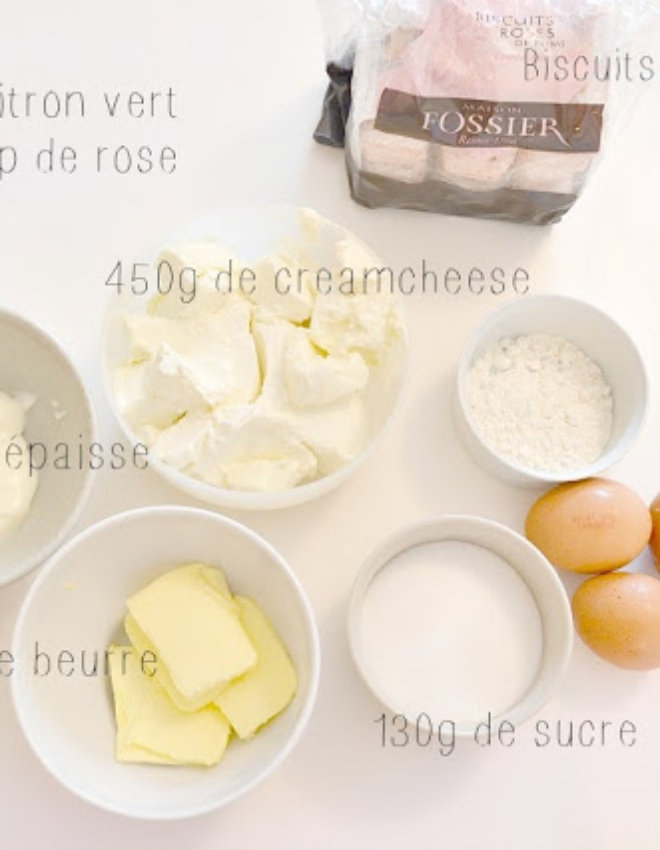 Recette # 11 Cheesecake
