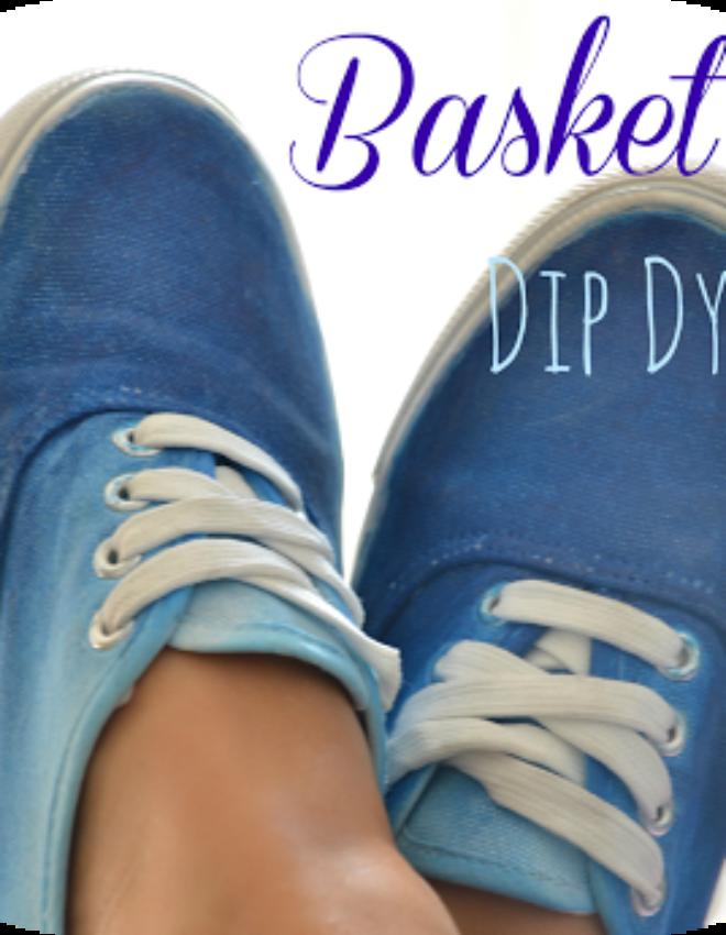 DIY: Basket Dip Dye