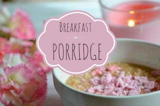 Recette #13 Porridge