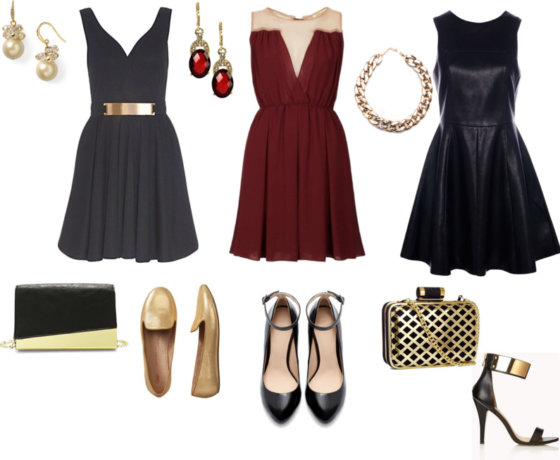 Dresses for the happy new year party!