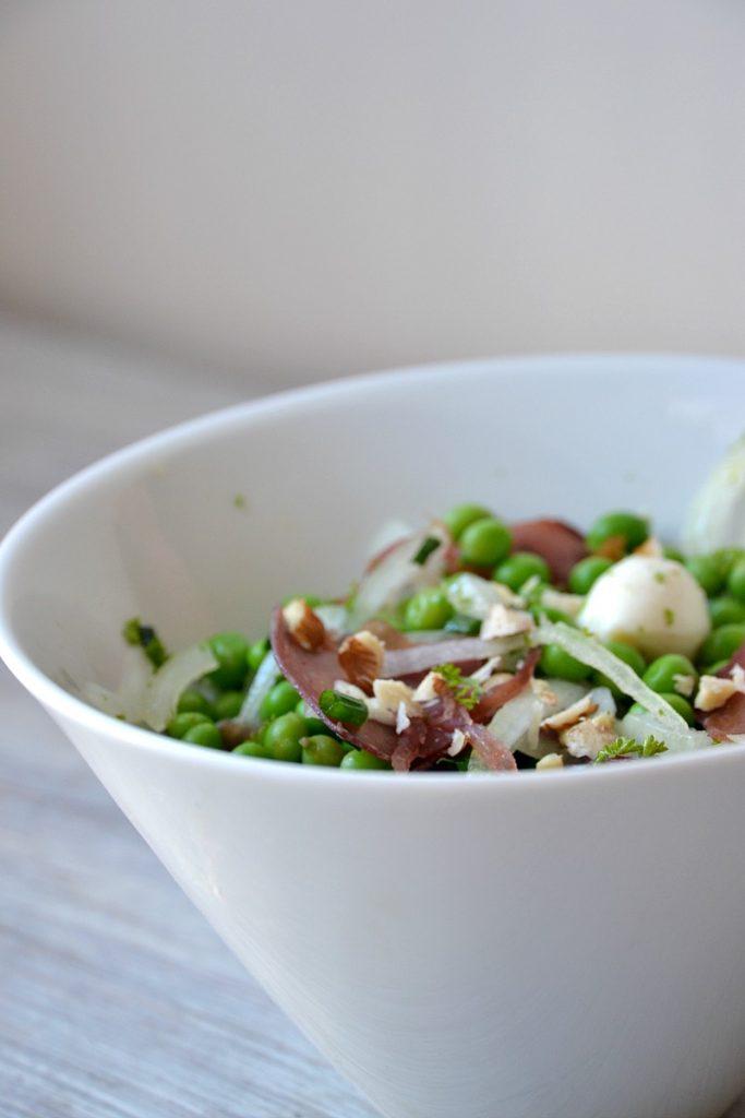 Salade de petits pois