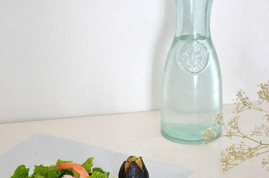 Recette Salade Figue | Crevette