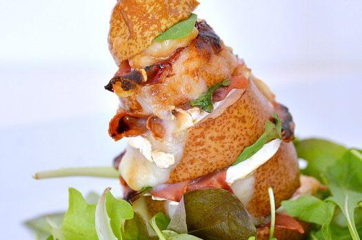 Recette #44-  Sandwich de Poire et Salade