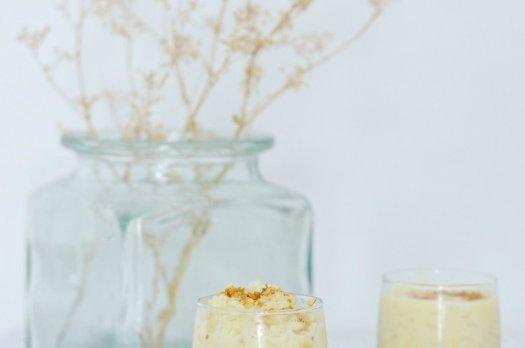 Riz au Lait d'amande & Caramel au beurre salé