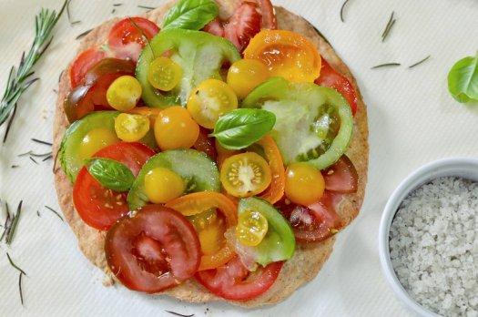 Tarte Parmesan / Tomates