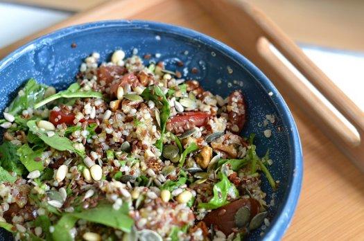 Salade composée (vegan / gluten free)