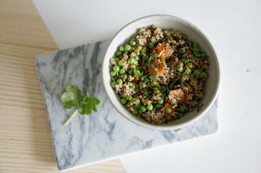 Quinoa aux légumes [vegan]