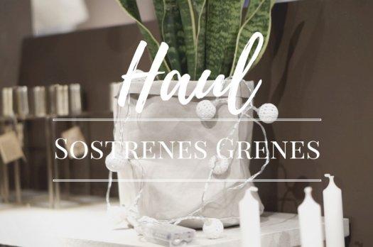 Les Soeurs Grenes (Haul)