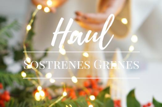 Haul de Noël Sostrene Grene