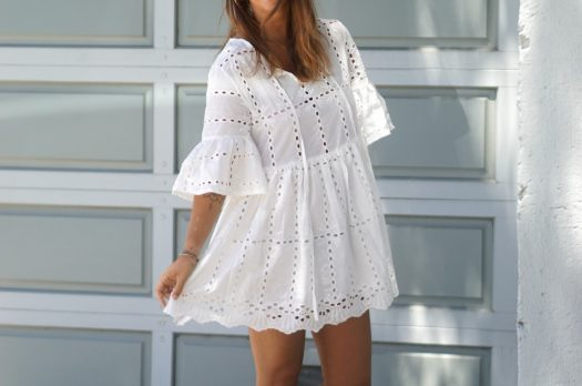 Broderie anglaise et robe d'été
