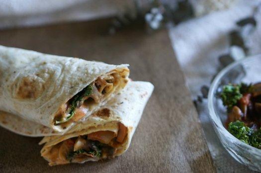 Wrap Vegan parfait pour le lunch
