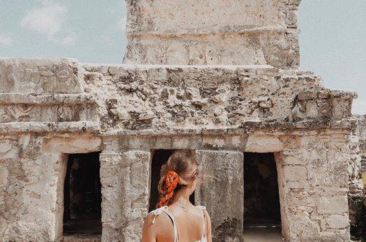 Visite des ruines de Tulum