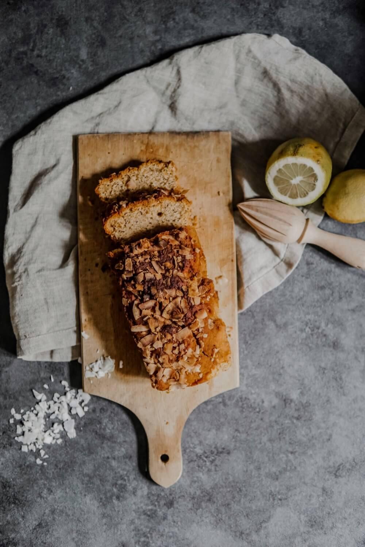 Cake Vegan Citron/Coco