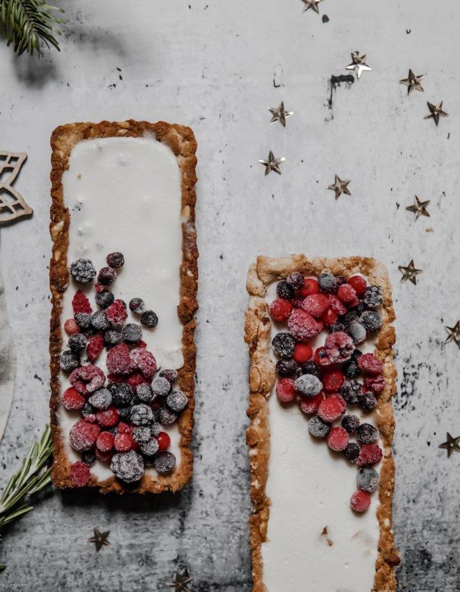 Menu de Noël: Tarte vegan coco/praliné
