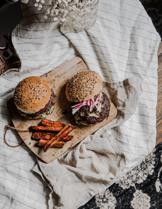 Burger  végétarian