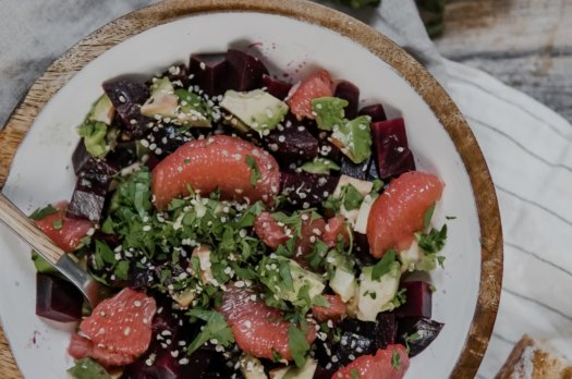 Prêt en 10 min: Salade détox
