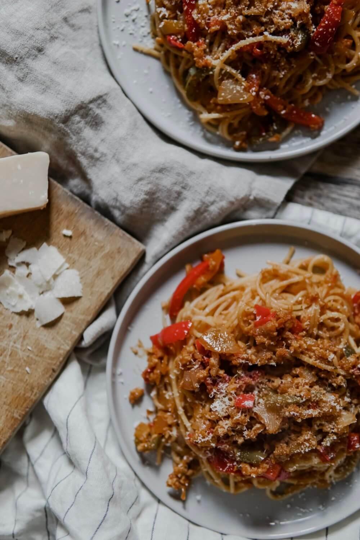 Spaghetti inspiration Bolognaise