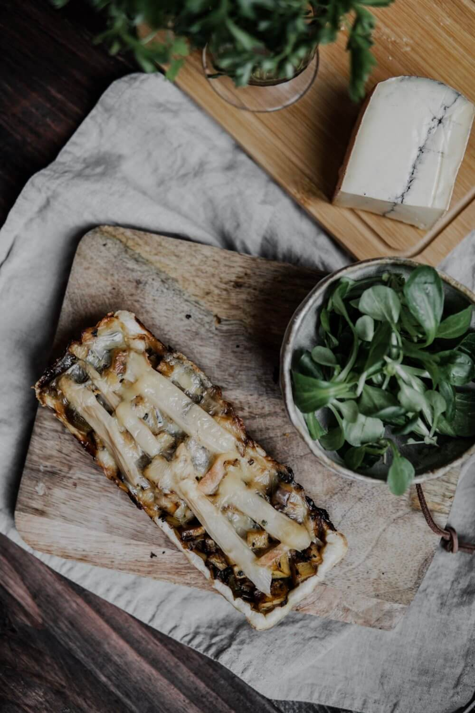 tarte au morbier