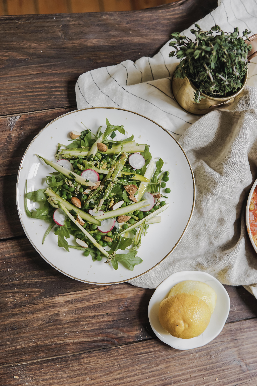 Salade fraiche de printemps