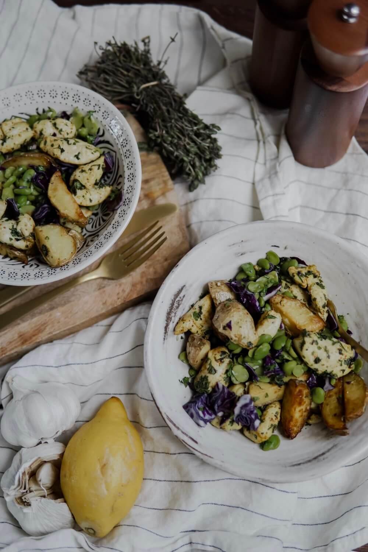 salade de féves