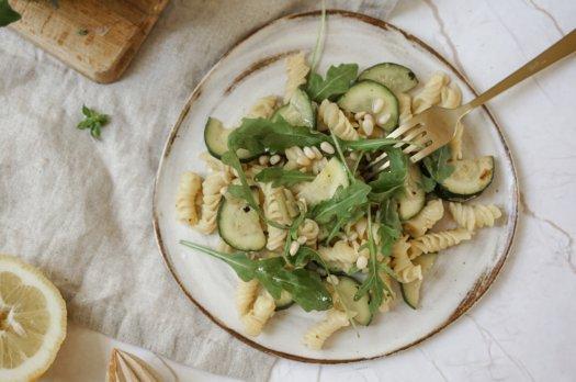 Prête en 10 min: Pâtes aux courgettes (vegan)