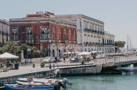 Visiter la Sicile: Syracuse (Ortigia)