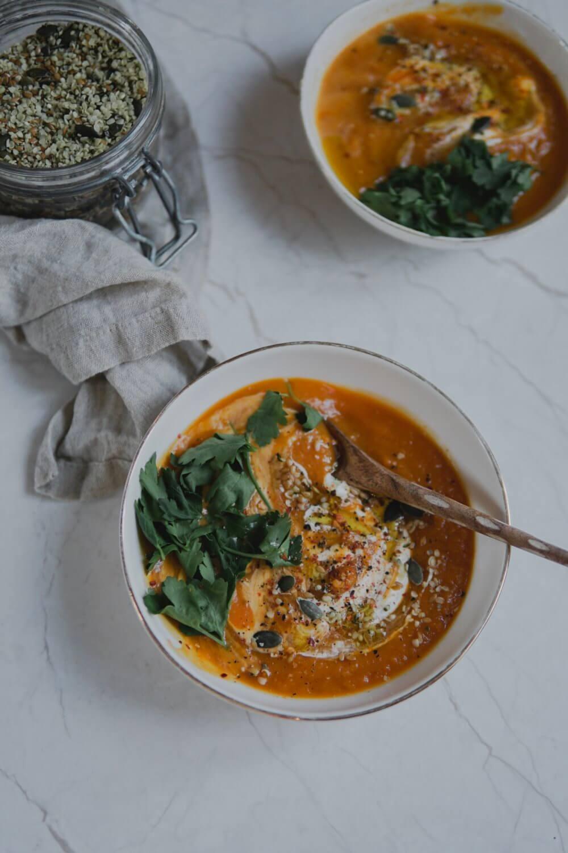 recette soupe patate douce