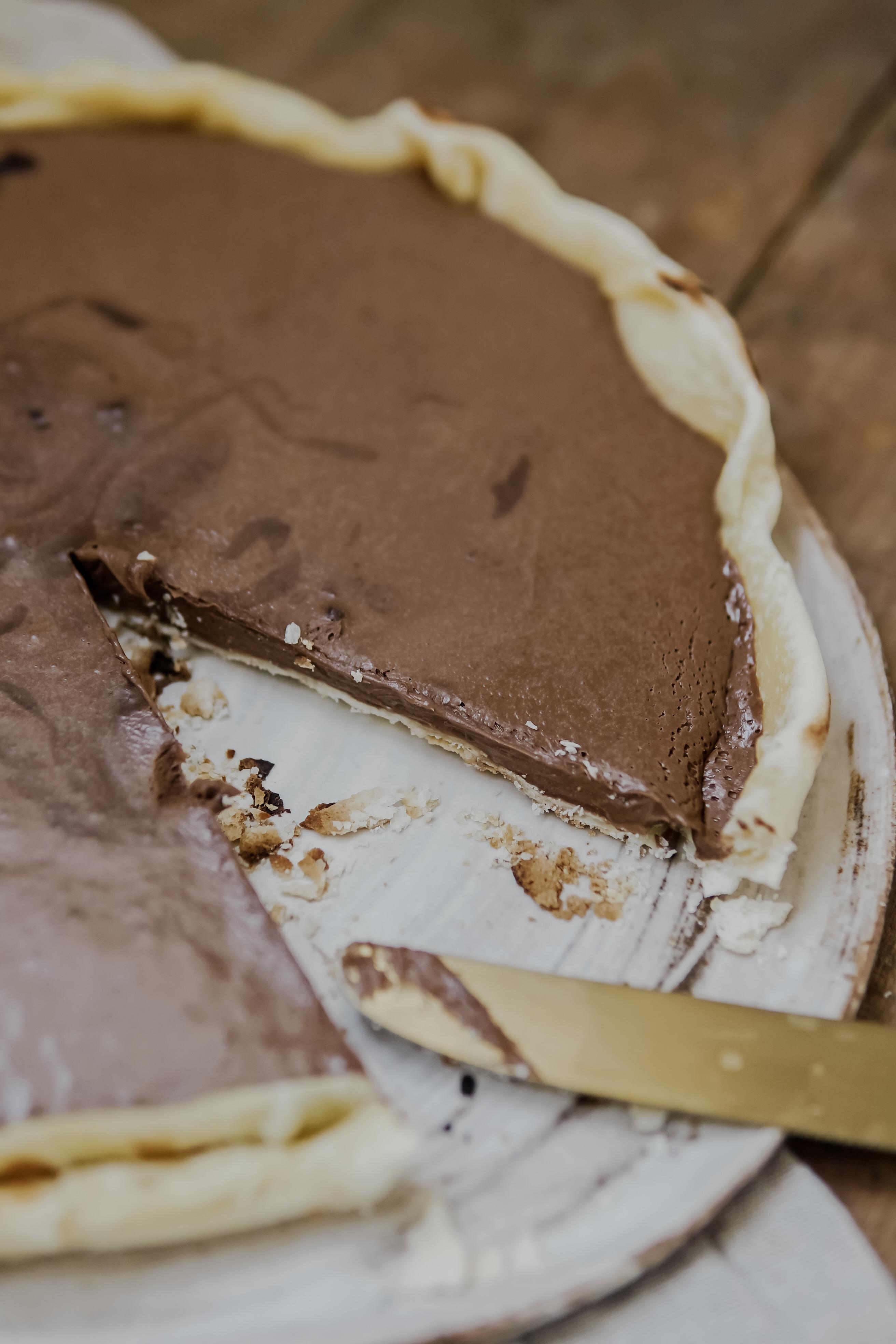 tarte au chocolat vegan