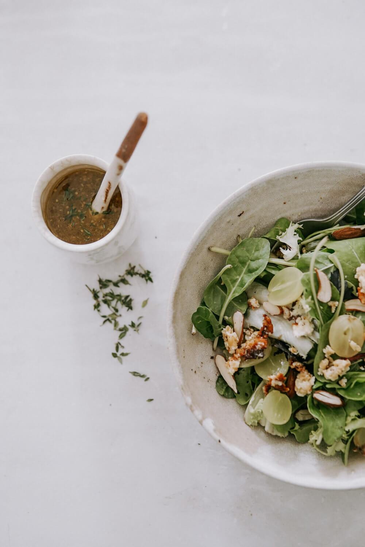 mesclun recette salade