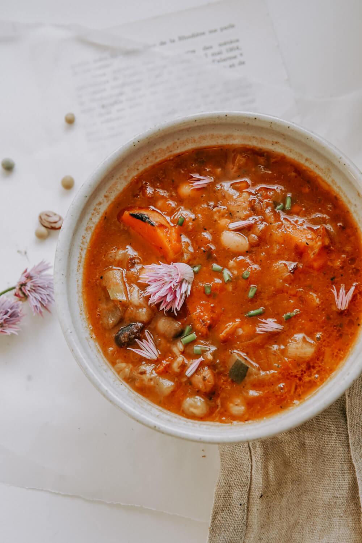minestrone recette